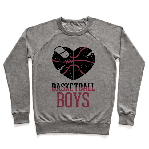 Basketball Boys Pullover