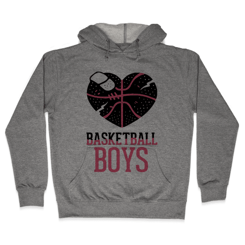 Basketball Boys Hooded Sweatshirt