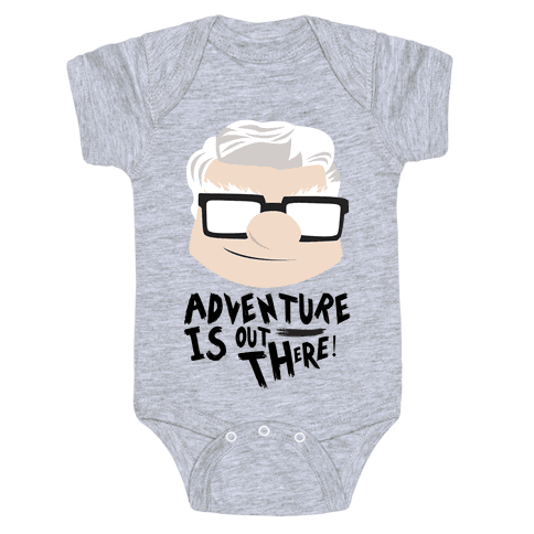 Adventure Is Out There Baby Onesy