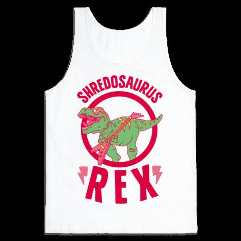 Shredosaurus Rex Tank Top