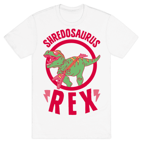 Shredosaurus Rex Mens T-Shirt