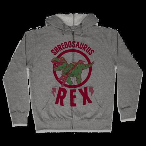 Shredosaurus Rex Zip Hoodie