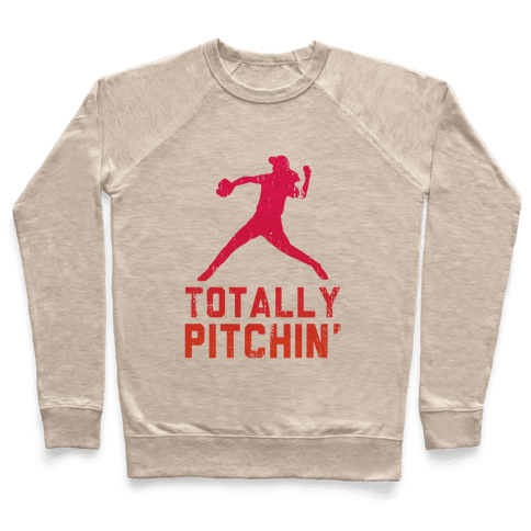 Totally Pitchin (Tank) Pullover