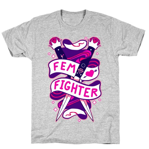 Fem Fighter T-Shirt