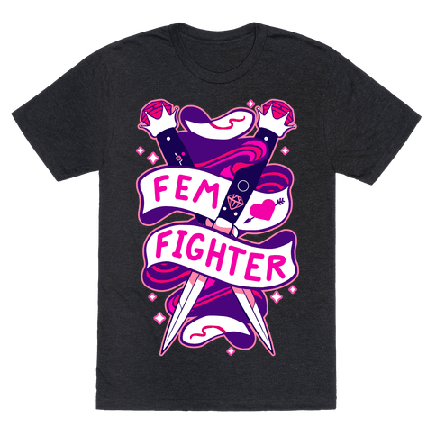 Fem Fighter Mens T-Shirt