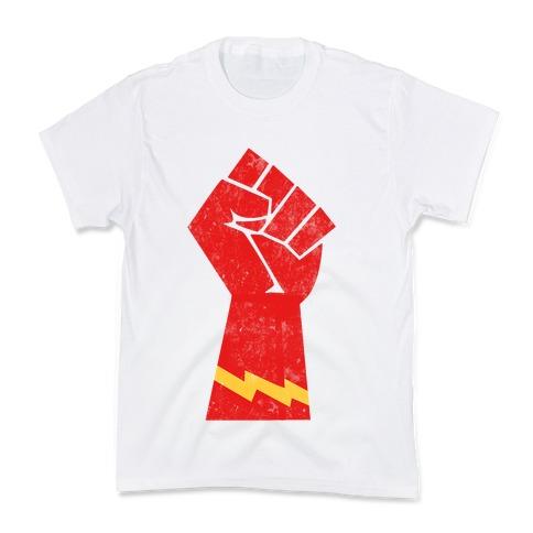 Flash Fist Kids T-Shirt