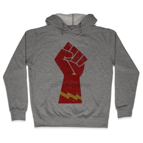 Flash Fist Hooded Sweatshirt