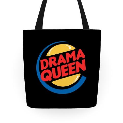 Drama Queen Burger Parody Tote