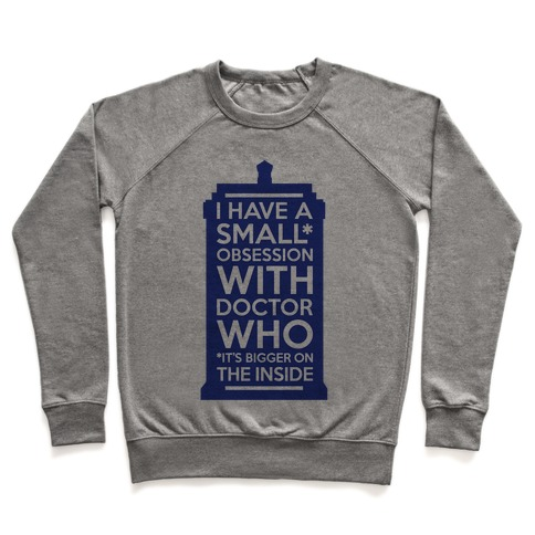Doctor Who Obsession Pullover