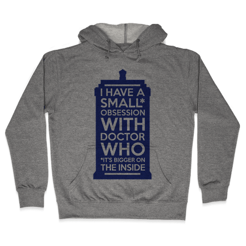 Doctor Who Obsession Hooded Sweatshirt