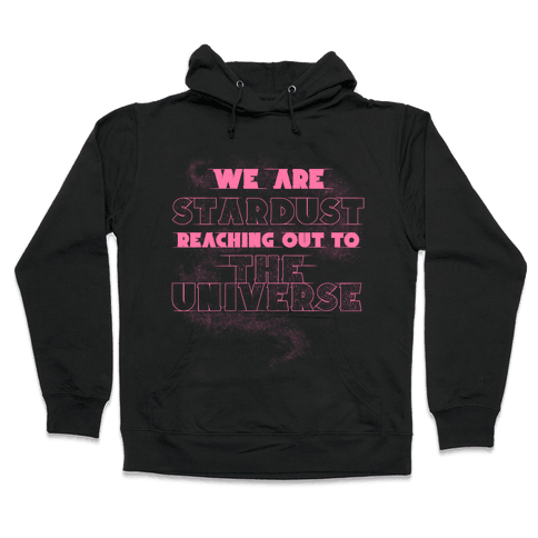 Stardust (Pink) Hooded Sweatshirt