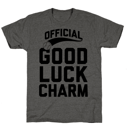 Baseball Good Luck Charm Mens T-Shirt