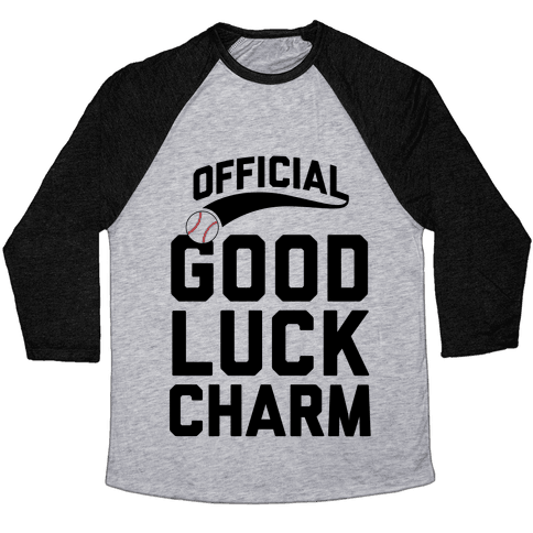 Baseball Good Luck Charm Baseball Tee