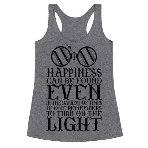 Turn on the Light Racerback Tank Top
