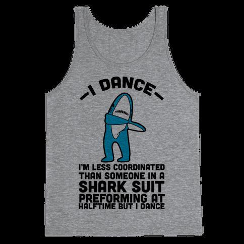 I'm Not Saying I'm Left Shark Tank Top
