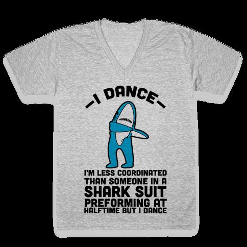 I'm Not Saying I'm Left Shark V-Neck Tee Shirt