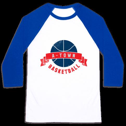 ATL Basketball Baseball Tee