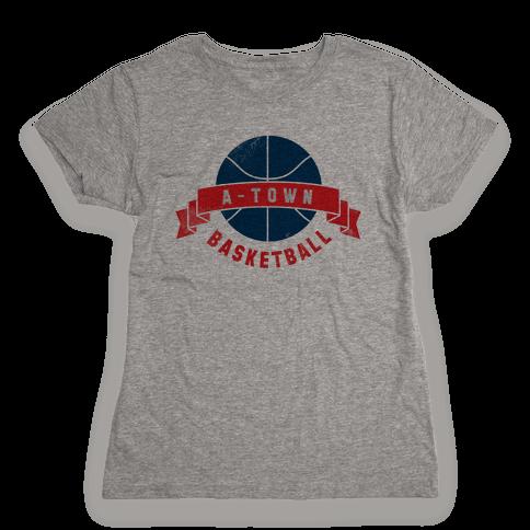 ATL Basketball Womens T-Shirt