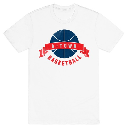 ATL Basketball Mens T-Shirt