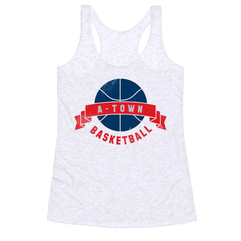 ATL Basketball Racerback Tank Top