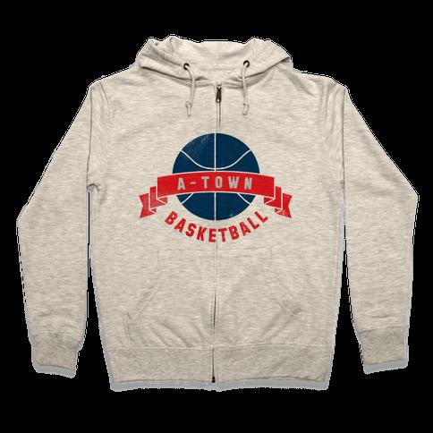 ATL Basketball Zip Hoodie