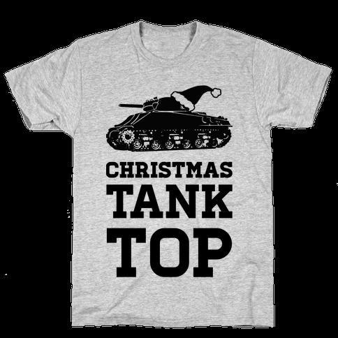 Christmas Tank Top Mens T-Shirt