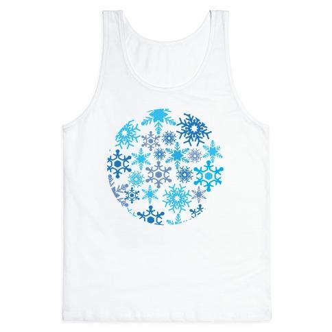 Snowflake Sphere Tank Top
