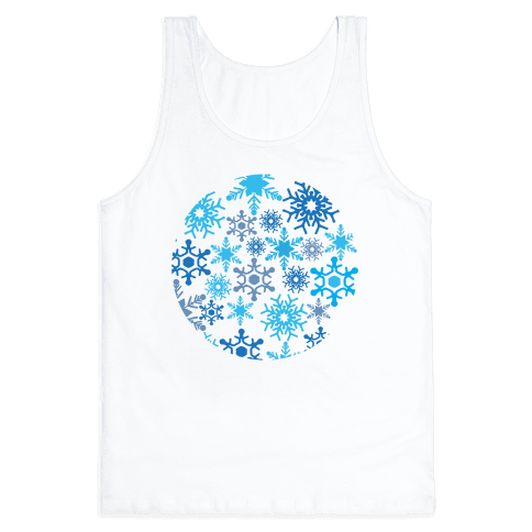 Snowflake Sphere Tank Top