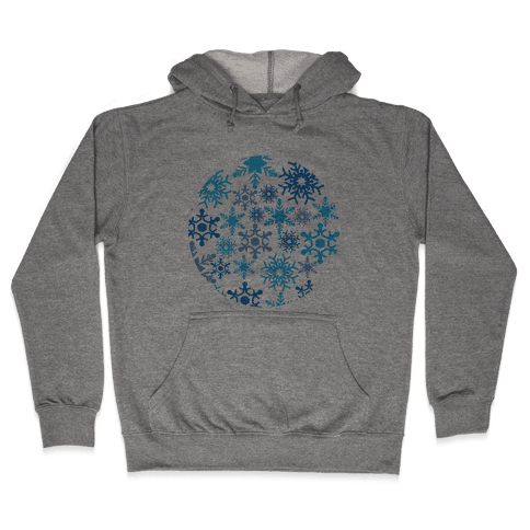 Snowflake Sphere Hooded Sweatshirt