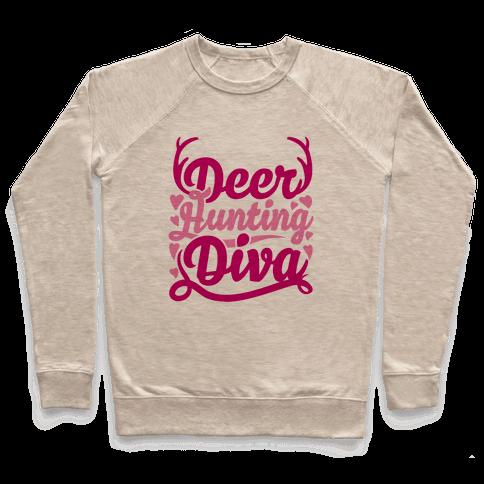 Deer Hunting Diva Pullover