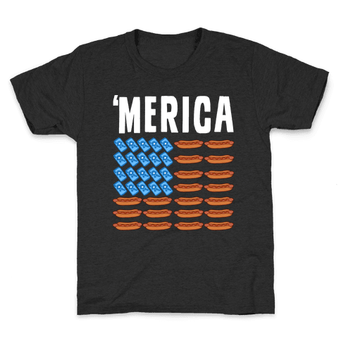 Beer, Hotdogs & 'Merica Kids T-Shirt