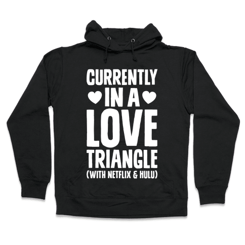 Love Triangle Hooded Sweatshirt