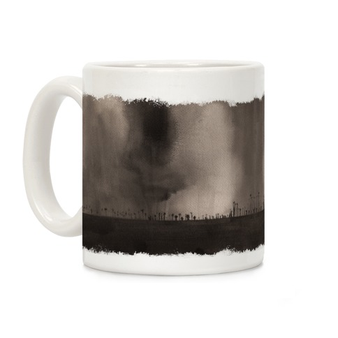 Ghostly Landscape Coffee Mug