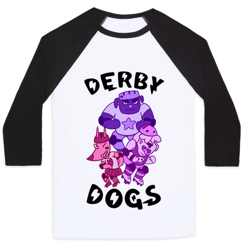 Derby Dogs Baseball Tee