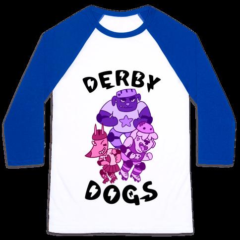 Derby Dogs Baseball Tee