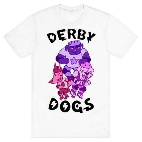 Derby Dogs Mens T-Shirt