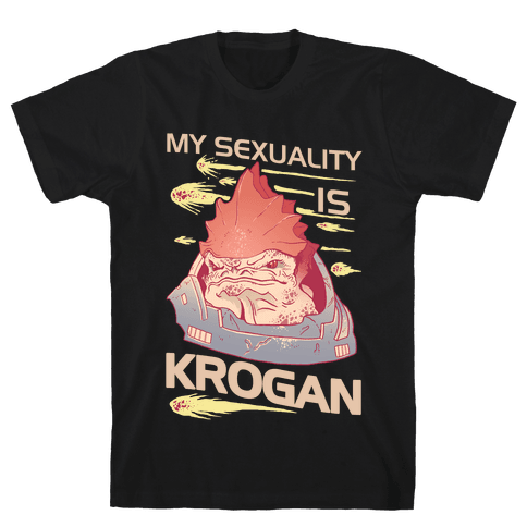 My Sexuality Is Krogan Mens T-Shirt