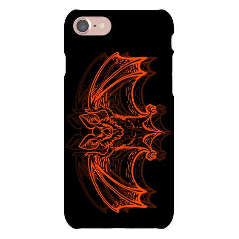 Spooky Bat Phone Case