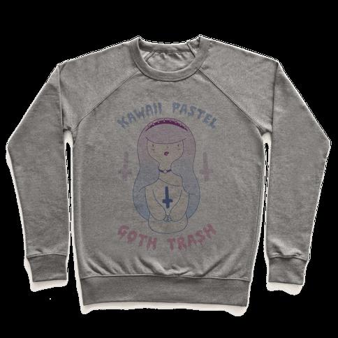Kawaii Pastel Goth Trash Pullover