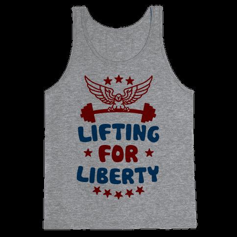 Lifting For Liberty Tank Top