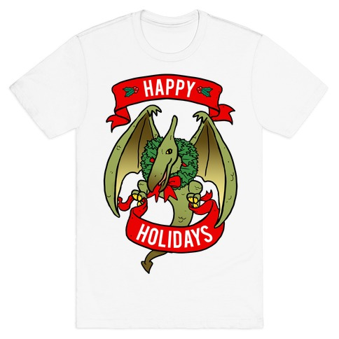 Christmas Pterodactyl (Community) T-Shirt