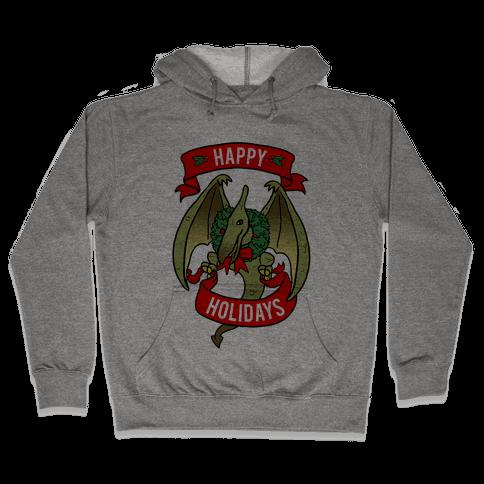 Christmas Pterodactyl (Community) Hooded Sweatshirt