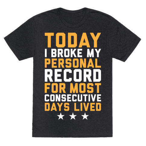 Consecutive Days Lived