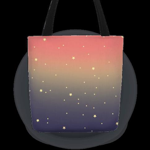 Galaxy Stars Tote