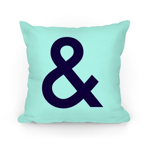 Ampersand Pillow Pillow