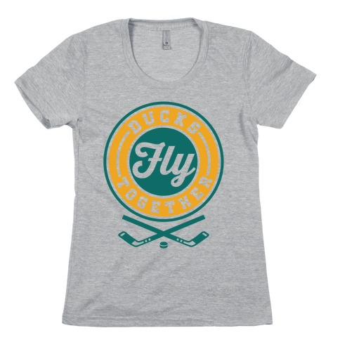 Ducks Fly Together Womens T-Shirt