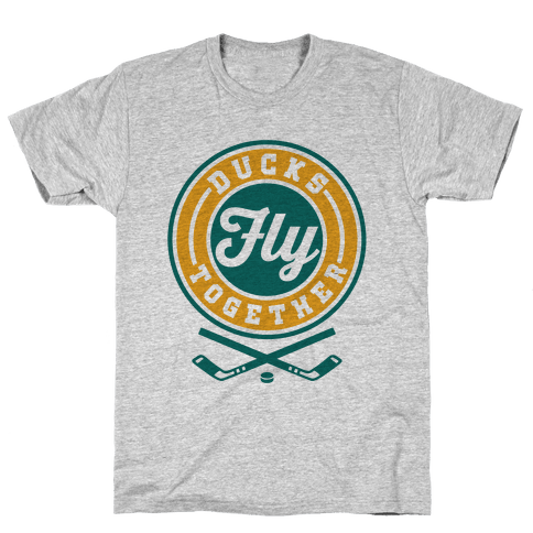 Ducks Fly Together Mens T-Shirt