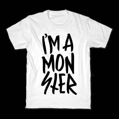 I'm A Monster Kids T-Shirt
