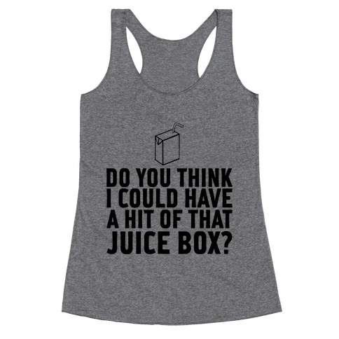 Juice Box Racerback Tank Top