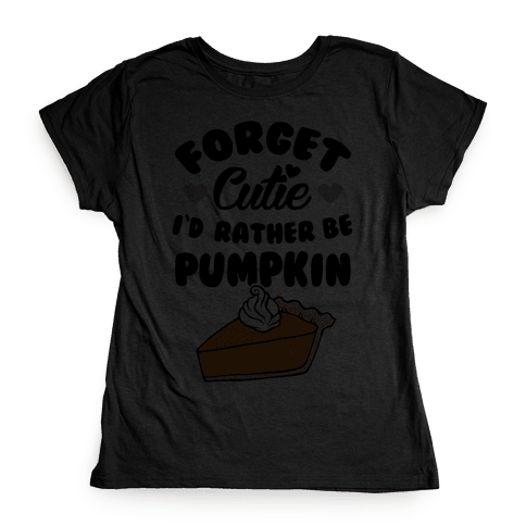 Cutie Pie Womens T-Shirt